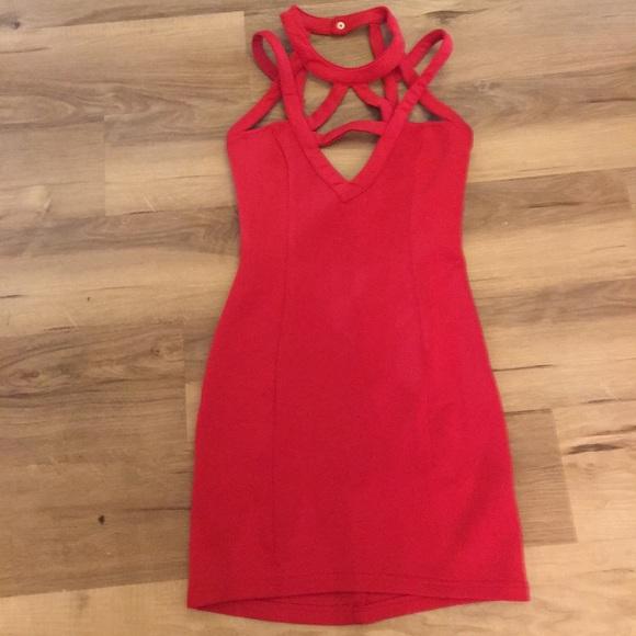 Tobi Dresses & Skirts - Sexy Red Mini Dress